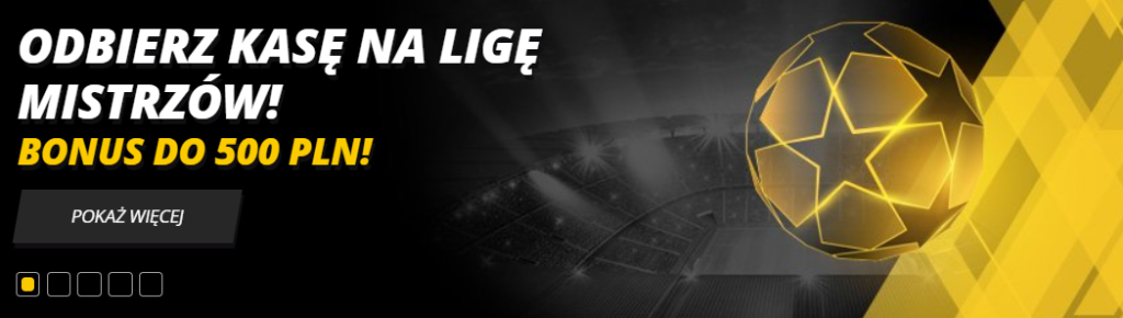 Liga Mistrzów w LVbet