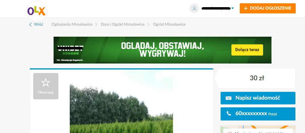 Reklama OLX